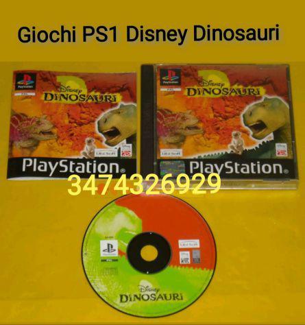 Giochi ps1 disney dinosauri ita 1 stampa