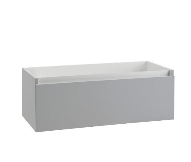 Mobile bagno sospeso 70 cm in legno tft ibiza grigio opaco