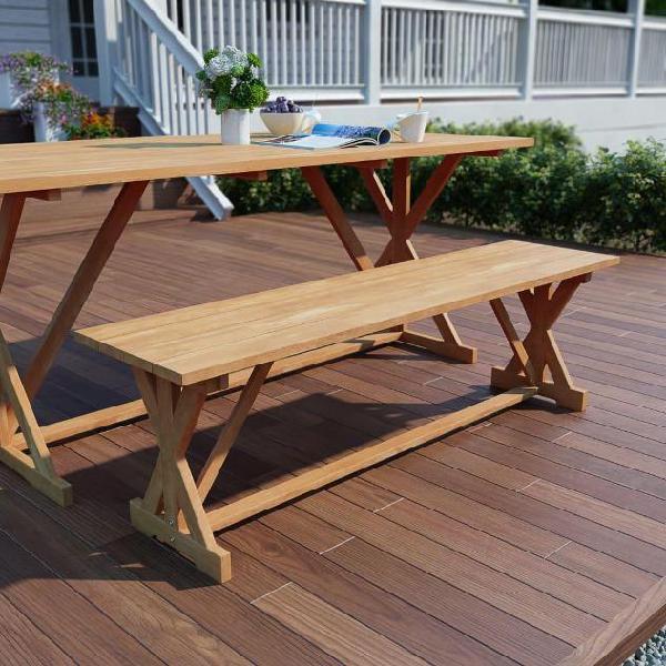 In acciaio da giardino Panchina 3 posti all/'aperto Patio Veranda Sedia Poltrona Mobili Reticolo