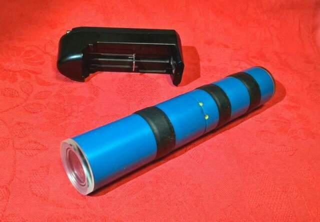 Laser subacqueo -120 mt.