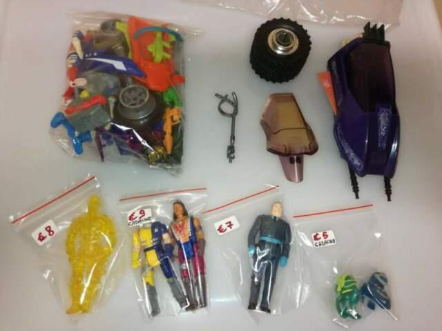 Lotto mask m.a.s.k. kenner giocattoli personaggi rari anni