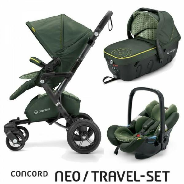 Passeggino trio concord neo travel-set limited edition