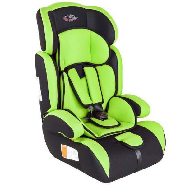 Seggiolino auto bambino verde neon 9