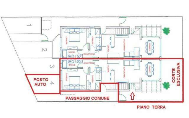 Appartamento trilocale in vendita a civitanova marche