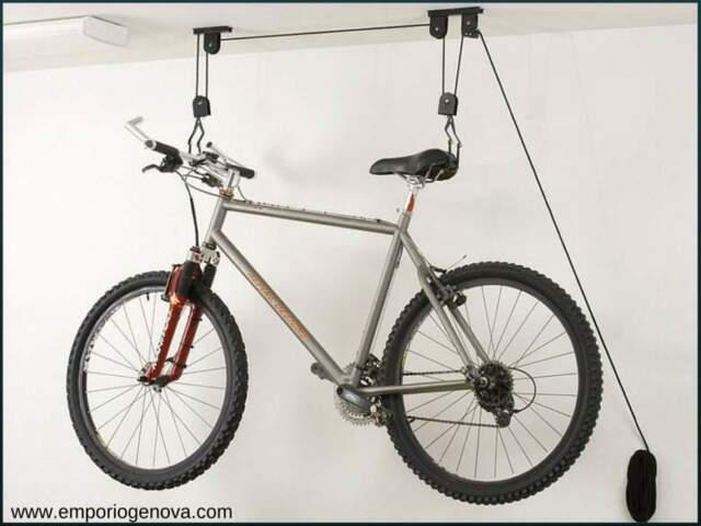 Appendi bici da soffitto porta biciclette ganci portabici