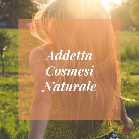 Addetta vendita cosmesi naturale