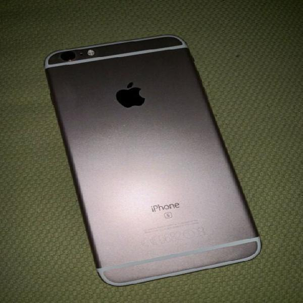 Apple iphone 6s plus 128 rosa completo di vetro