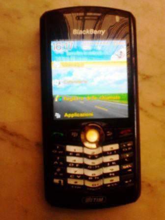 Blackberry pearl 8100 palmare x pezzi di ricambio senza