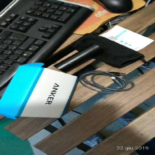 Carica batteria power bank anker