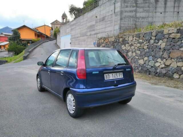 Fiat punto blu 1250cc benzina 54kw/73 cv anno 1995