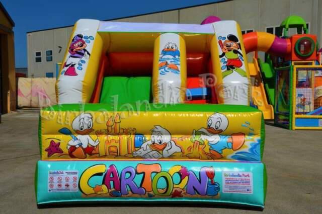 Giochi gonfiabili -scivolo gonfiabile per bambini