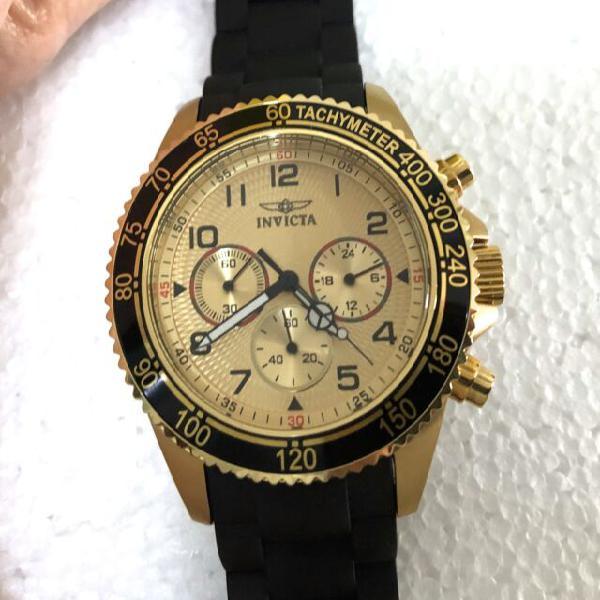 Inivicta orologio uomo cronografo coll. making