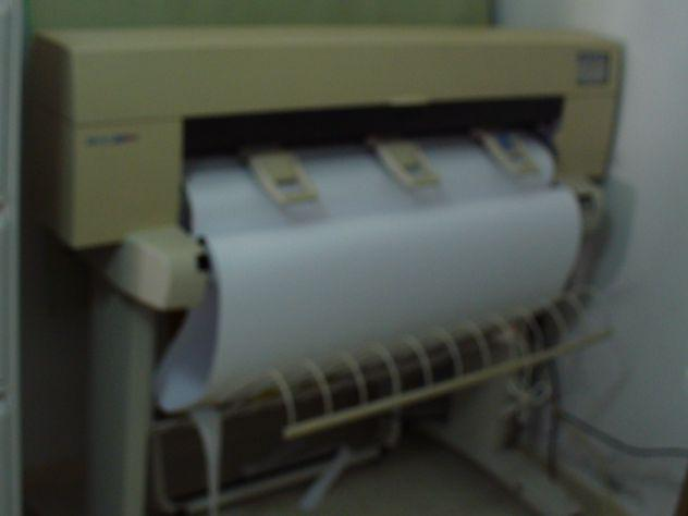 Plotter stampante hp mod designjet 455ca