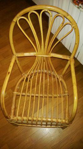 Poltroncina per bimbi in vero bambu'