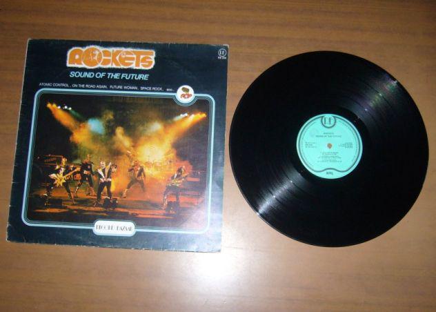 Rockets - the sound of future lp 33 giri