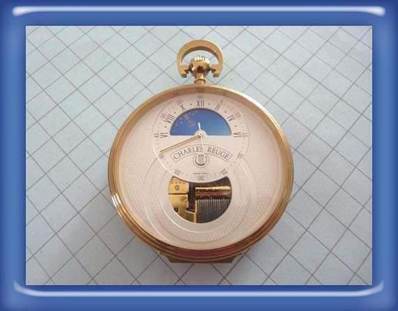 Reuge orologio da tasca 24 ore con carillon
