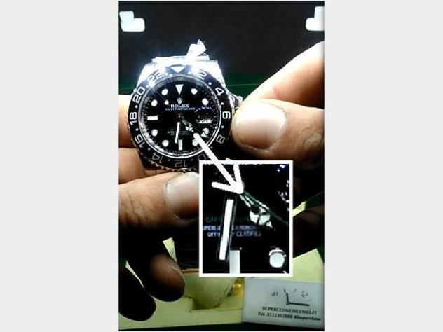 Rolex gmt master 2 3186 parti originali