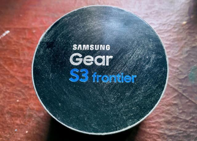 Samsung galaxy gear s3 frontier