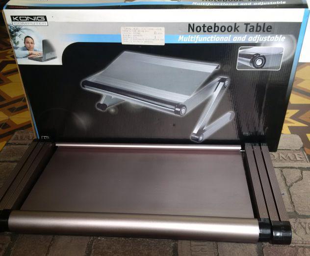 Tavolo pieghevole supporto per notebook laptop
