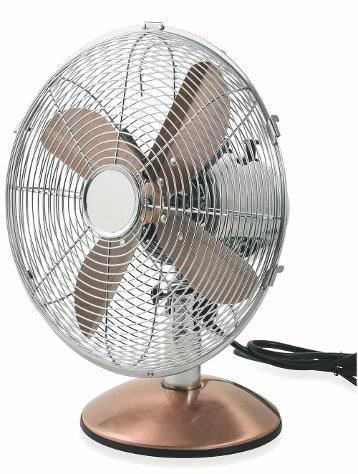 Ventilatore da tavolo 30cm oscillante 3 velocitãâ 35w