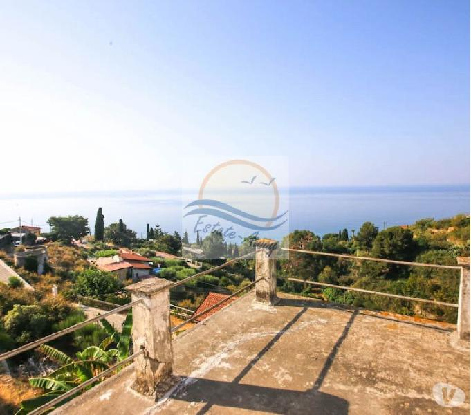 Iv1080 casa indipendente vista mare in vendita a bordighera.