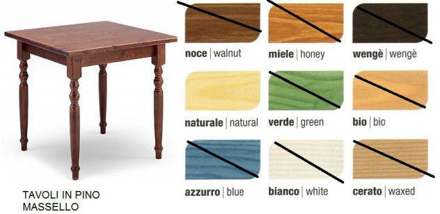Tavoli e sedie adatte per ristorante, bar