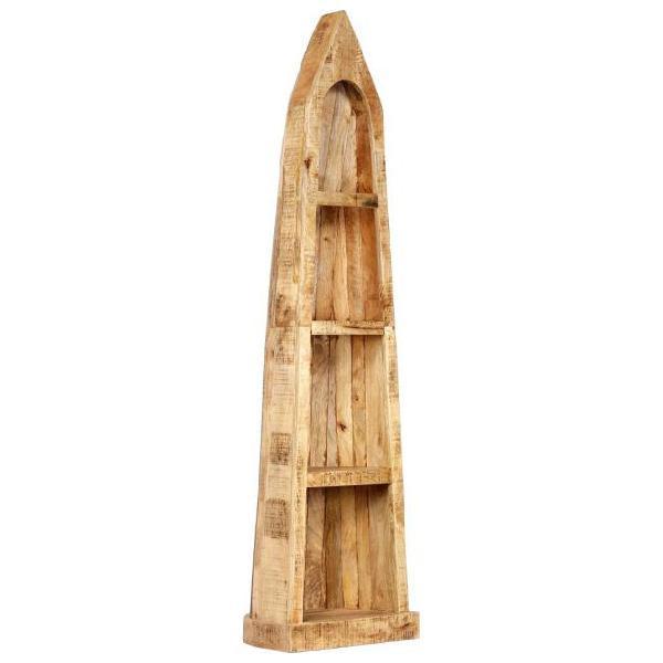Vidaxl libreria 50x40x180 cm in legno massello di mango
