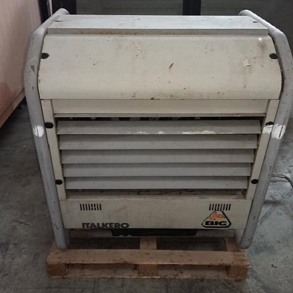 Generatore aria calda italkero fox big a gas