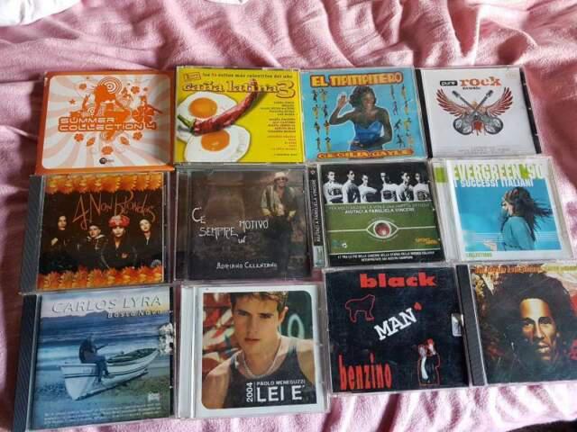 12 cd originali vari generi svendita