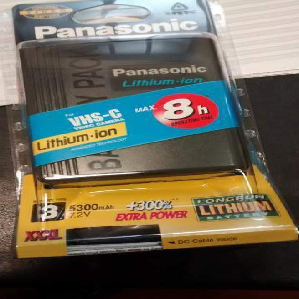 Panasonic cgr-d815 batteria originale videocamera