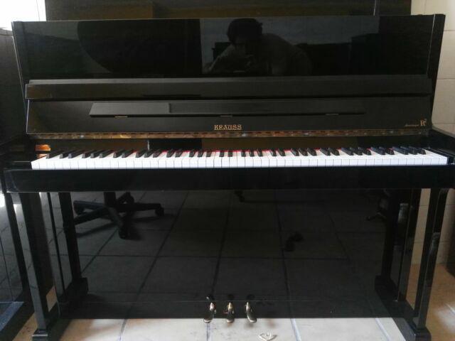 Pianoforte tedesco verticale krauss sauter 118 r2 con
