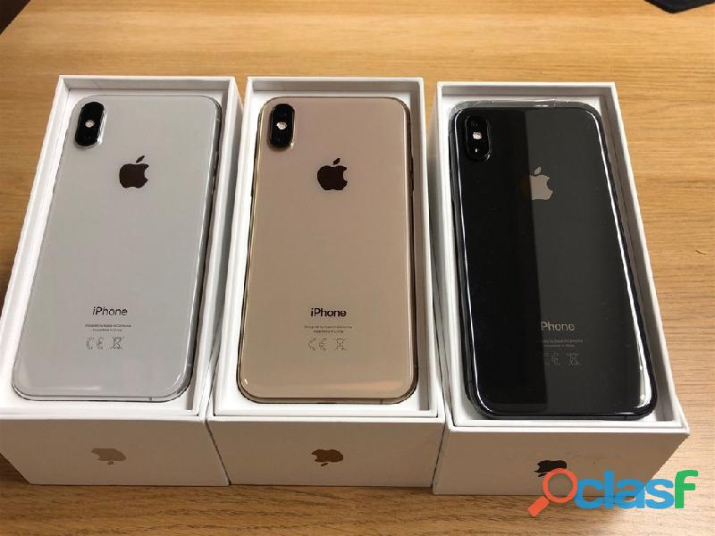 Apple iphone xs 64gb spesa 400 eur ,iphone xs max 64gb spesa 430 eur ,iphone x 64gb per 300 eur