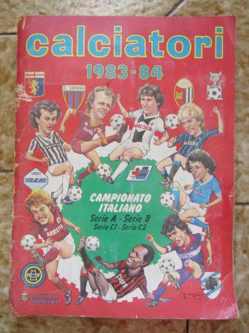 Album figurine calciatori panini completo 1983 - 84