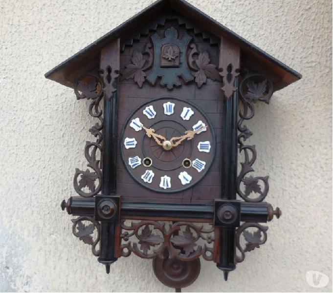 Antico grande orologio a cucu foresta nera epoca 900
