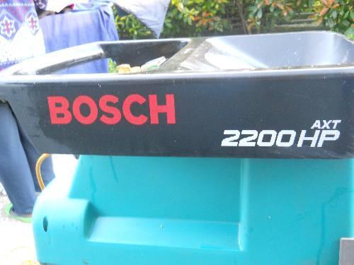 Biotrituratore bosch mod. atx 2200 hp