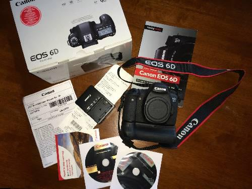 Canon eos 6d 20.2 mp digital slr camera