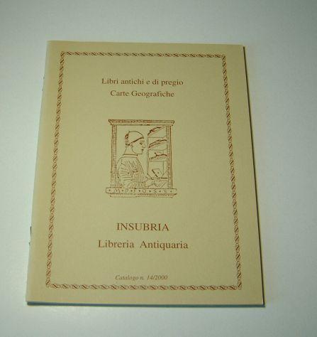 Catalogo insubria - nr. 14