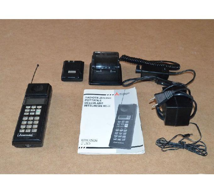Cellulare mitsubishi mt-3 vintage 1988