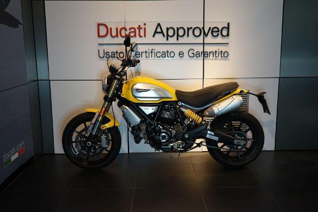 Ducati scrambler scrambler 1100 yellow