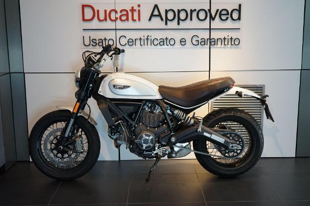 Ducati scrambler scrambler 800 classic sugar white 2018