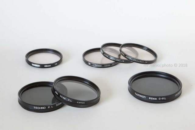 Filtri per macchina fotografica vari