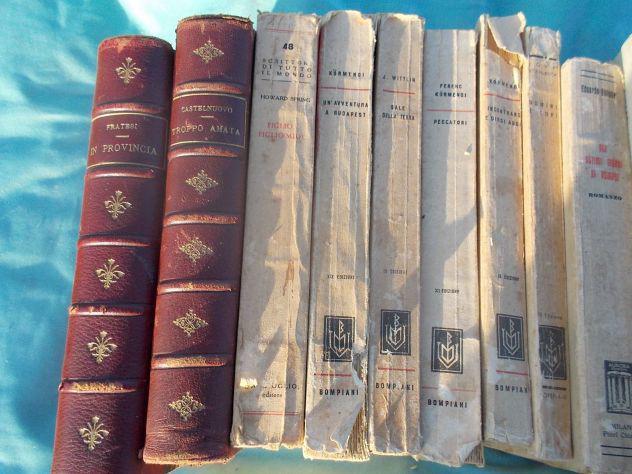 Libri antichi romanzi e letteratura dal 1884 al 1945