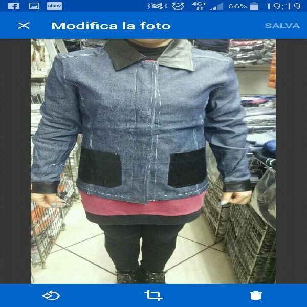 Lotto 50 giubotti jeans donna tutti a sole 50 euro