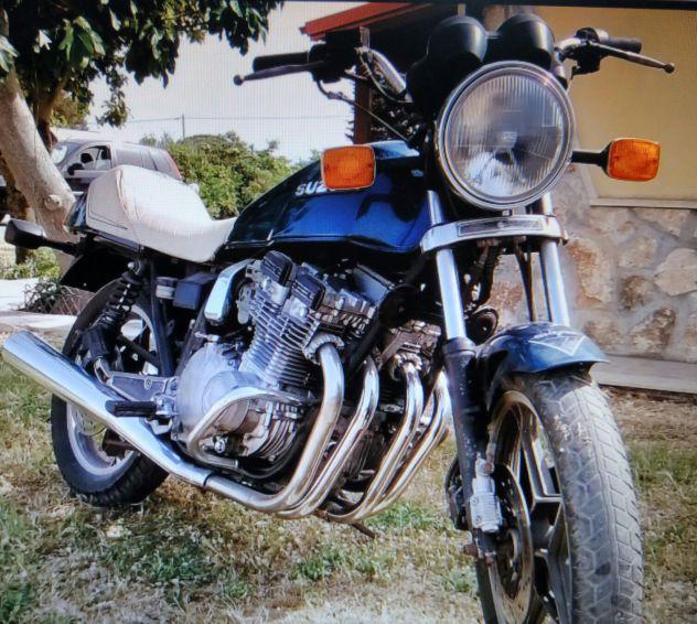 Moto d'epoca suzuki gsx 750 e