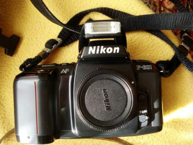 Macchina fotografica reflex nikon af f-601