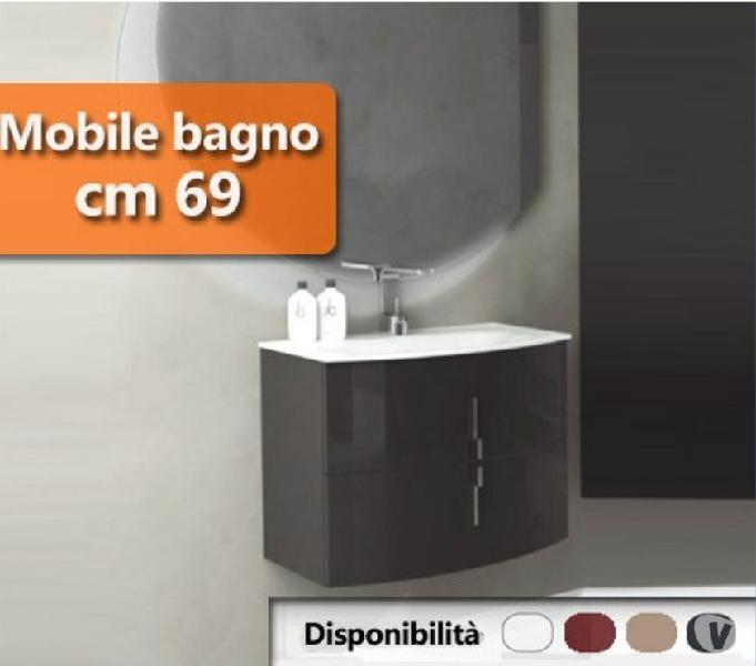Mobile da bagno disponibile in una vasta gamma di colori