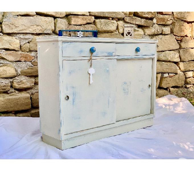Mobile dispensa vintage shabby chic cucina