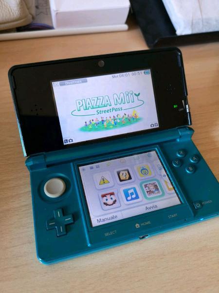 Nintendo 3ds + giochi + accessori