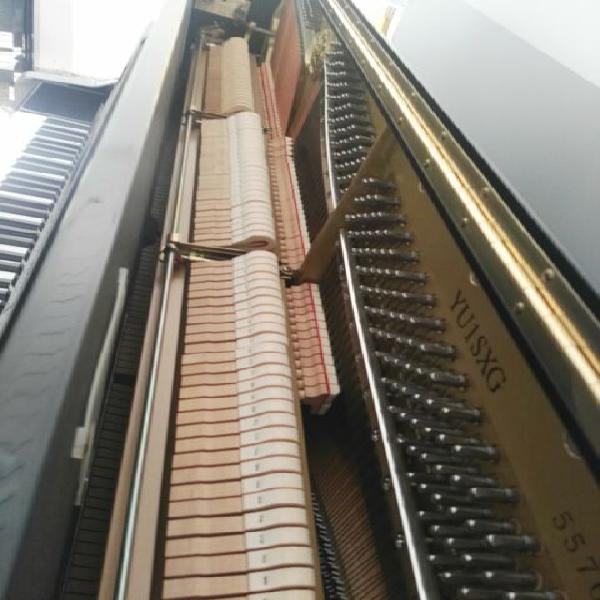 Pianoforte yamaha yu1sxg silent + disklavier con trasporto