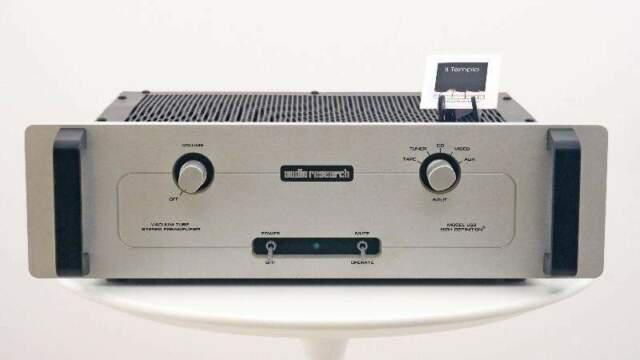 Pre a valvole audio research ls8